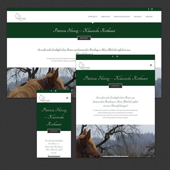 Webdesign Patricia Herzog